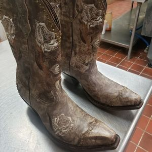 LUCCHESE WESTERN BOOTS